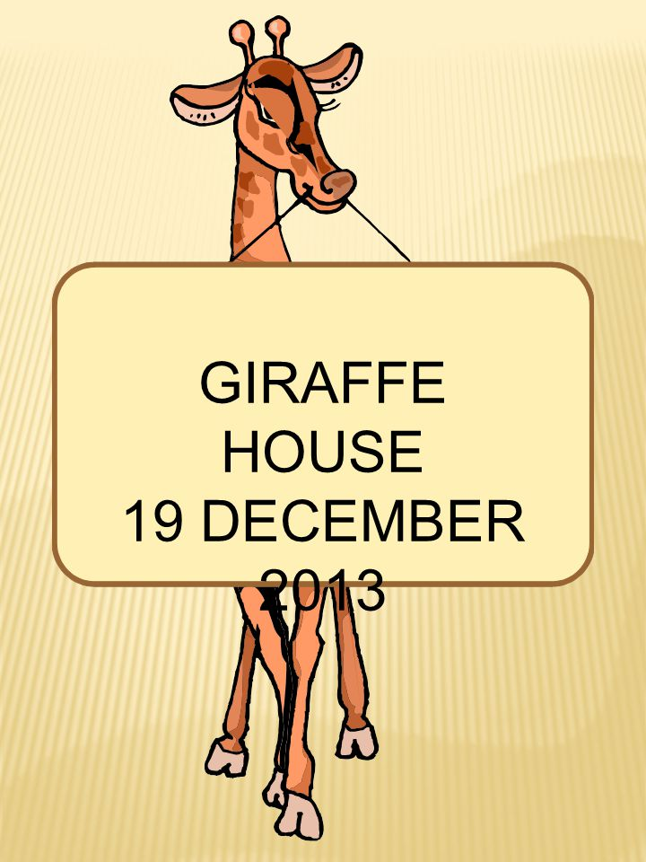 GIRAFFE HOUSE 19 DECEMBER 2013 Jaimee, Claire, Tracy and Ganny on a visit to the Giraffe House.