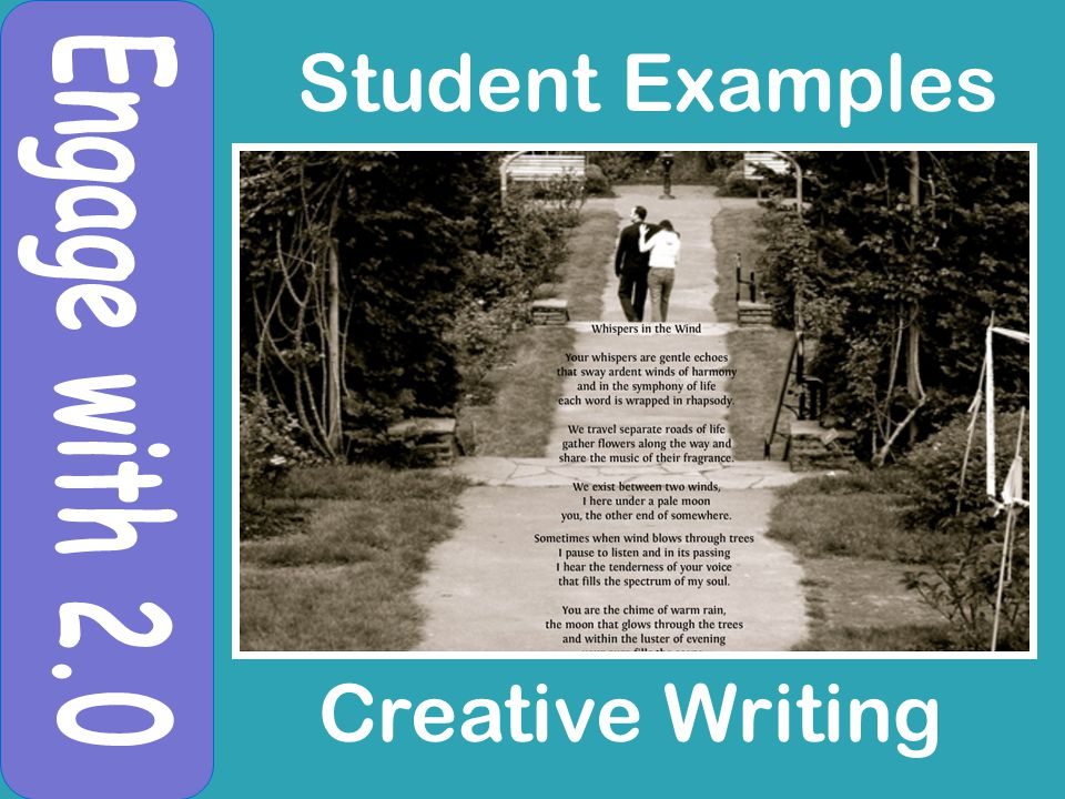 Student Examples Creative Writing