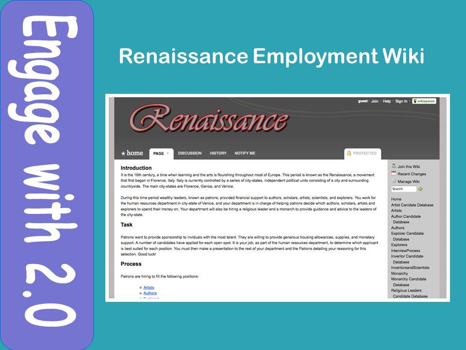 Renaissance Employment Wiki