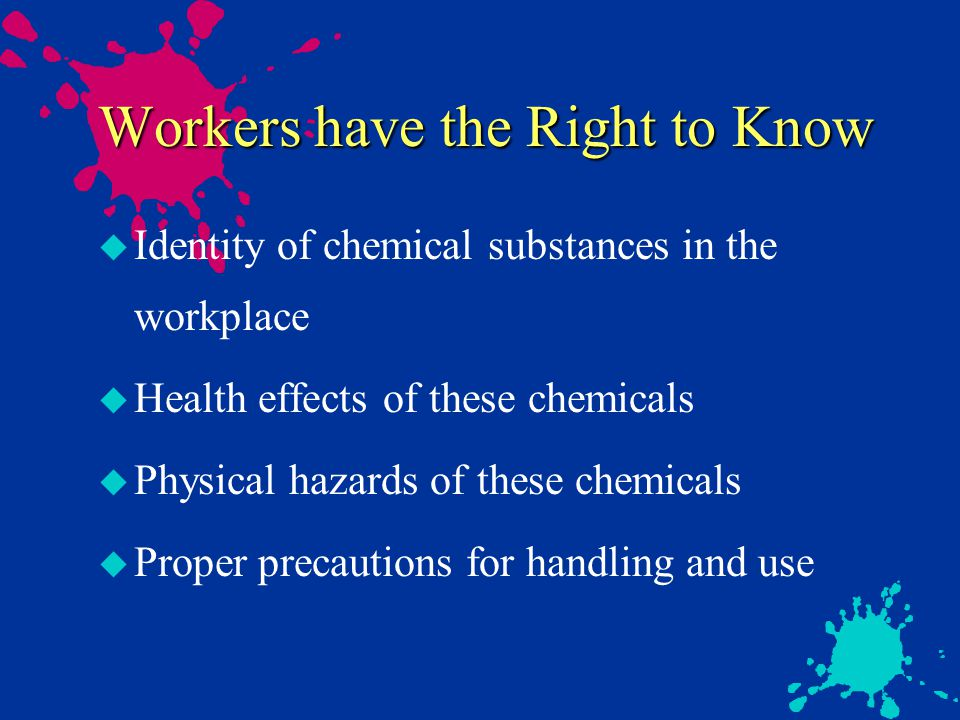 Precautions for Painters u Know the what is in your pigments.