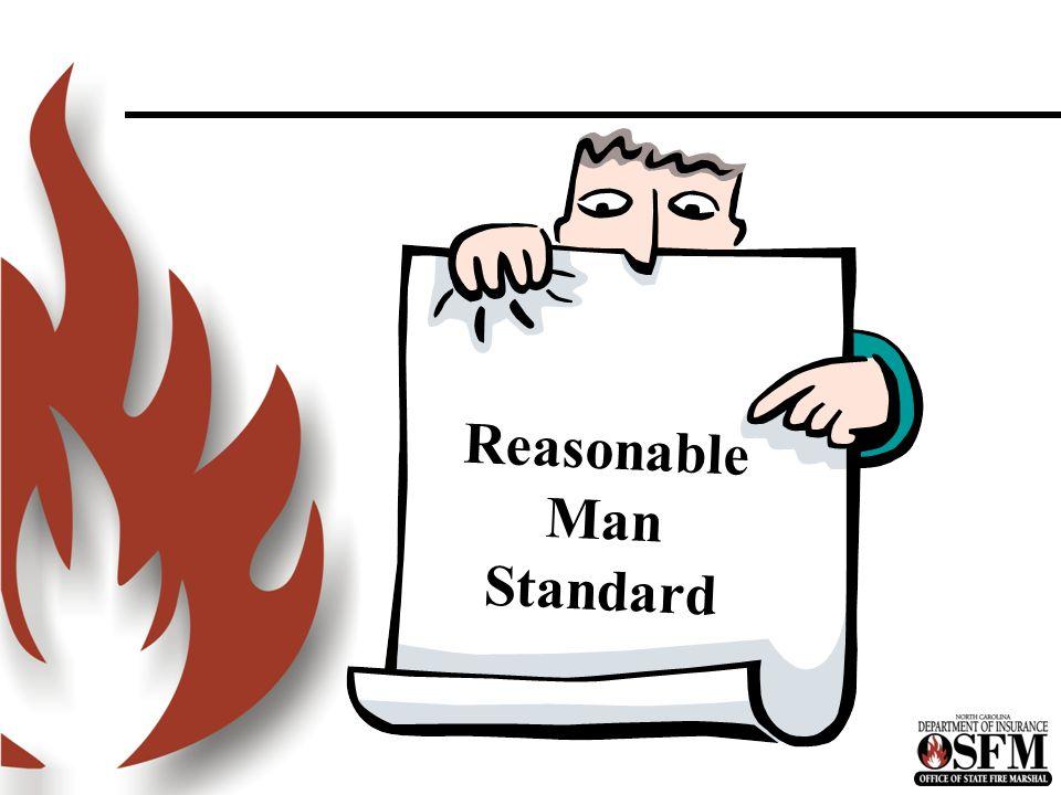 Reasonable Man Standard