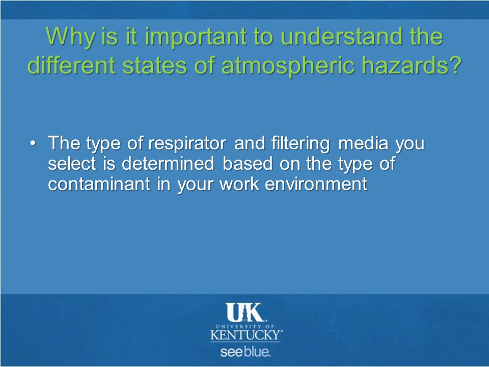 Why is it important to understand the different states of atmospheric hazards.
