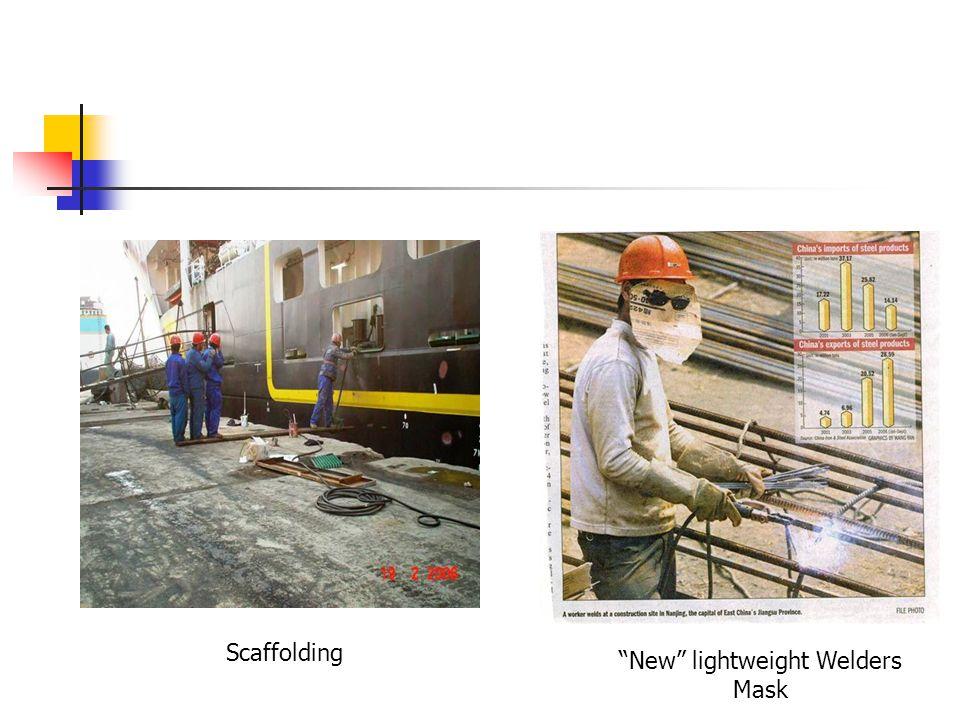 Scaffolding New lightweight Welders Mask