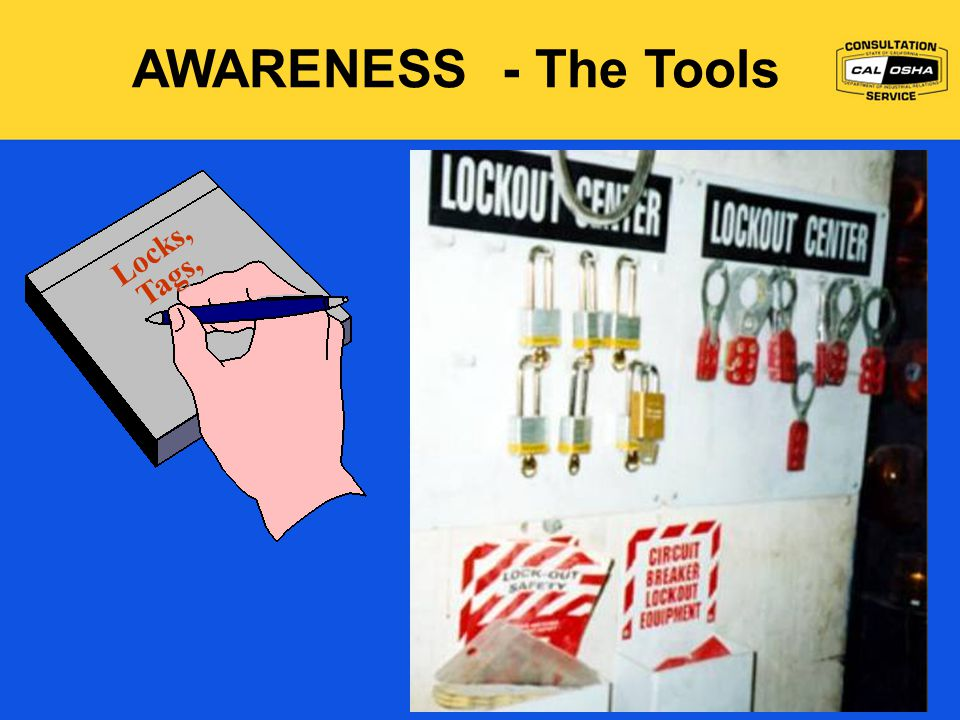 AWARENESS - The Tools Locks, Tags,