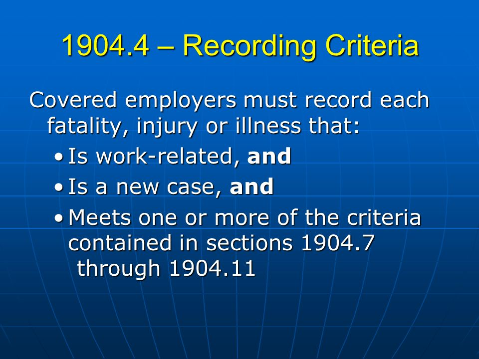 What to do? Is it reportable? Is it reportable? How will you record? How will you record?