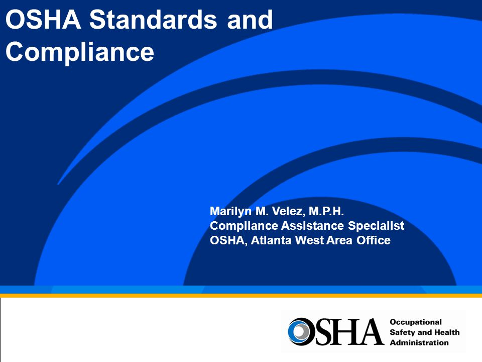 3 What is OSHA? O ccupational S afety and H ealth A dministration O S H A