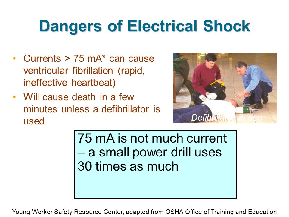HispanicsWorkSafe.org Safety Training and Educational Materials for Hispanic Workers Remember… Fuses and circuit breakers protect equipment, not people, and don't protect against shocks and electrocutions.
