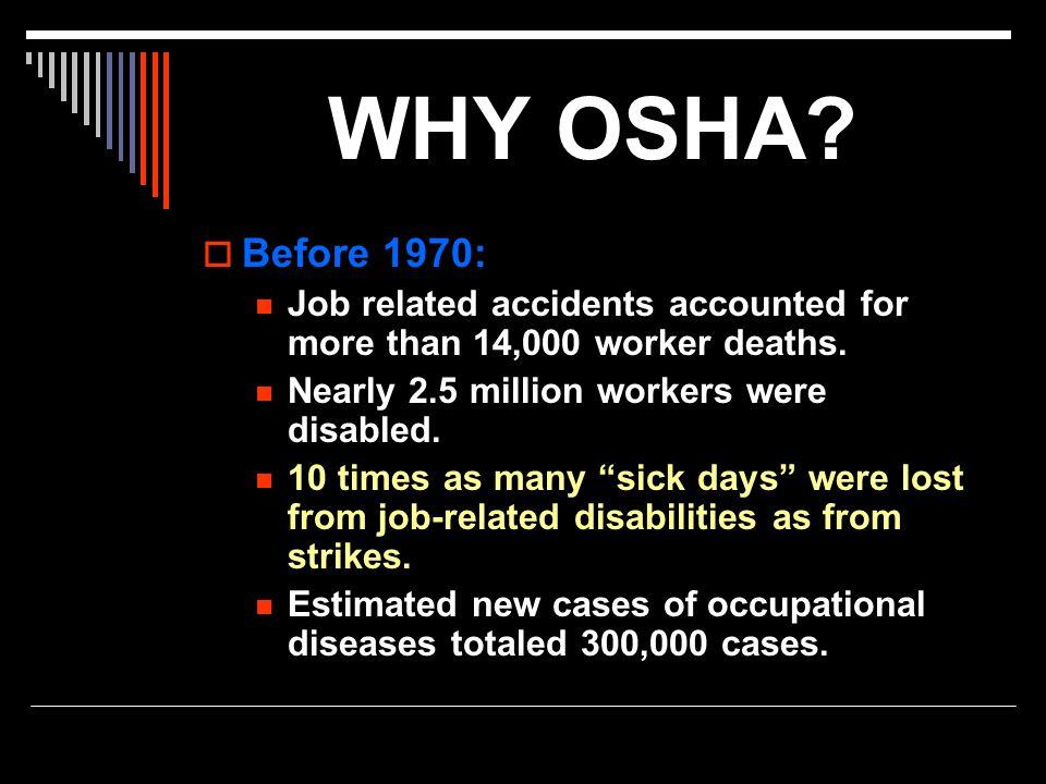 Is OSHA Working.