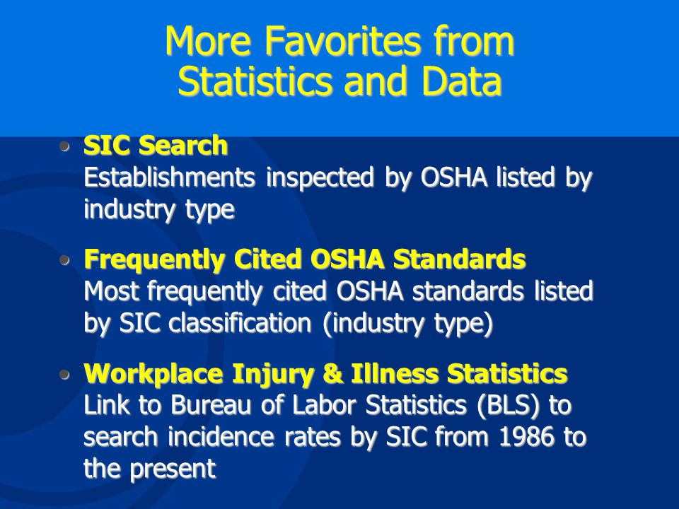 OSHA Search Engine Enter Text Here