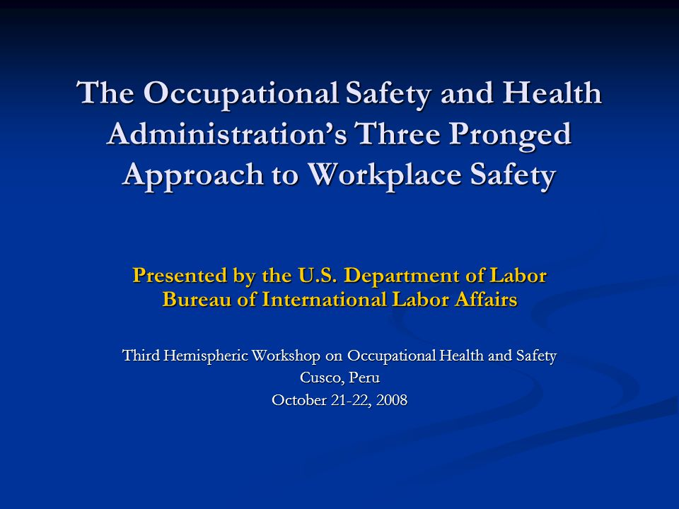 Compliance Assistance  $afety Pays Interactive system to assist employers in estimating the costs of occupational injuries and illnesses and the impact on a company's profitability Interactive system to assist employers in estimating the costs of occupational injuries and illnesses and the impact on a company's profitability Businesses use a formula approach to predict the direct and indirect impacts Businesses use a formula approach to predict the direct and indirect impacts  Advisory Groups OSHA has several standing committees or ad hoc committees that advise the agency OSHA has several standing committees or ad hoc committees that advise the agency Committees include representatives of management, labor, and state agencies, as well as one or more designees of the Secretary of Health and Human Services Committees include representatives of management, labor, and state agencies, as well as one or more designees of the Secretary of Health and Human Services