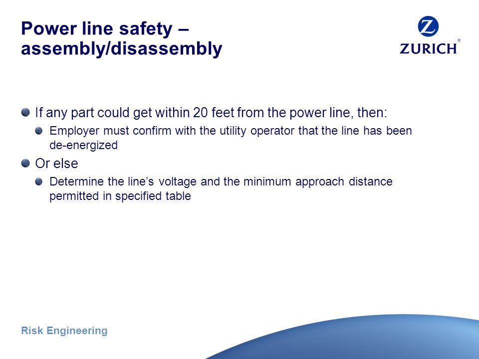 Risk Engineering Power line safety Photo credit: Bill Davis