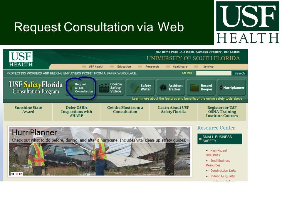 Request Consultation via Web