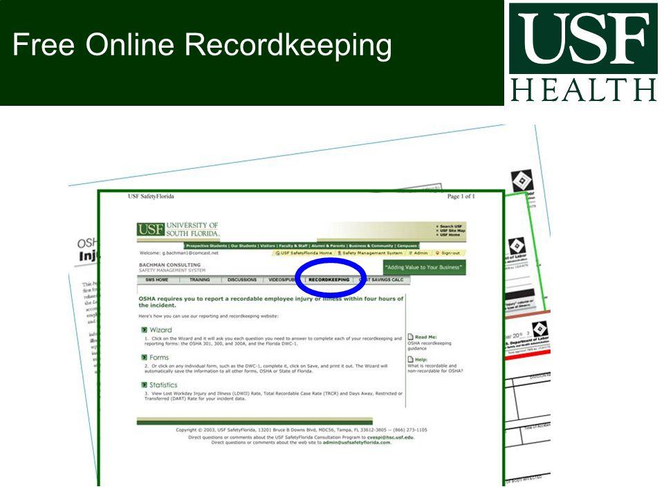 Free Online Recordkeeping