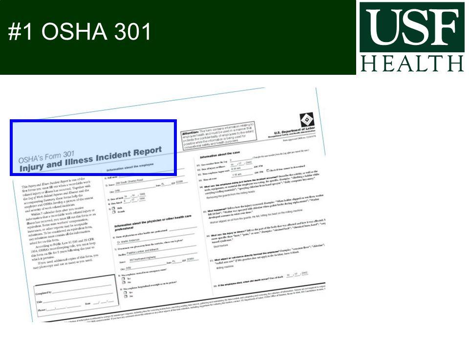 #1 OSHA 301