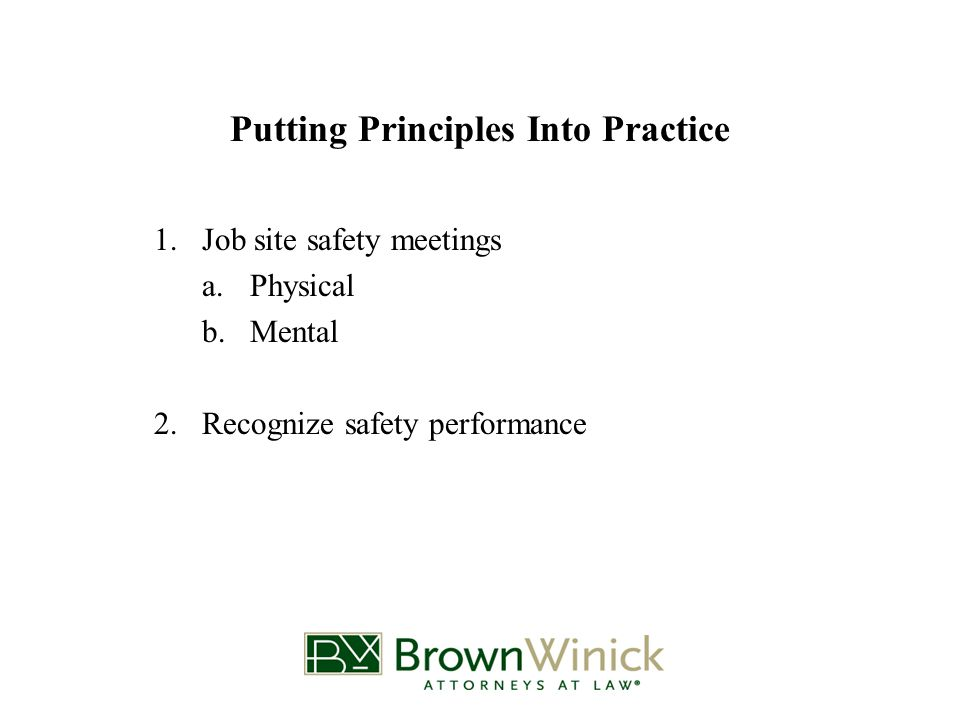 What to do after an inspection