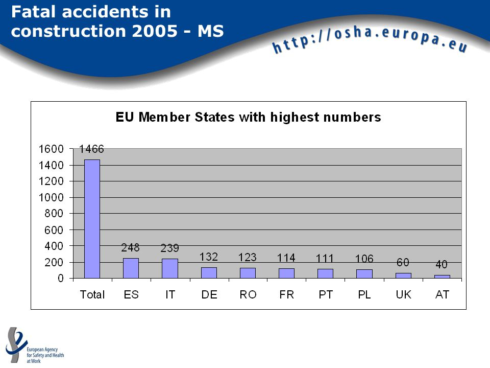 Fatal accidents in construction 2005 - MS