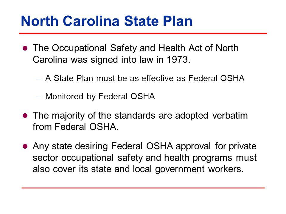 Rules and Standards North Carolina General Statutes (NCGS) North Carolina Administrative Code (NCAC) Code of Federal Regulations (CFR)