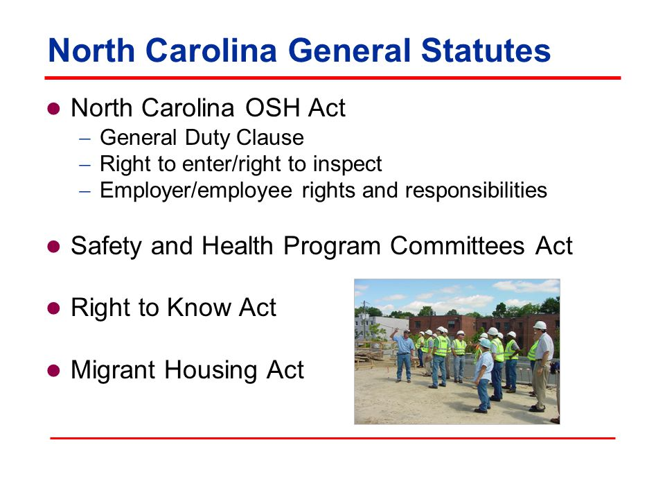 Agricultural Safety and Health Bureau Conduct inspections in agricultural workplaces  Complaint, fatality, and referral  Conduct pre-occupancy inspections of migrant housing  Bilingual outreach program