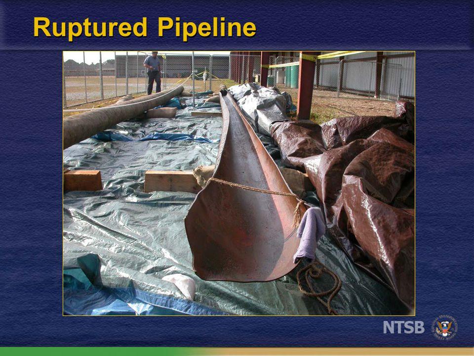Ruptured Pipeline