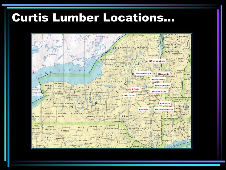 Curtis Lumber Locations...