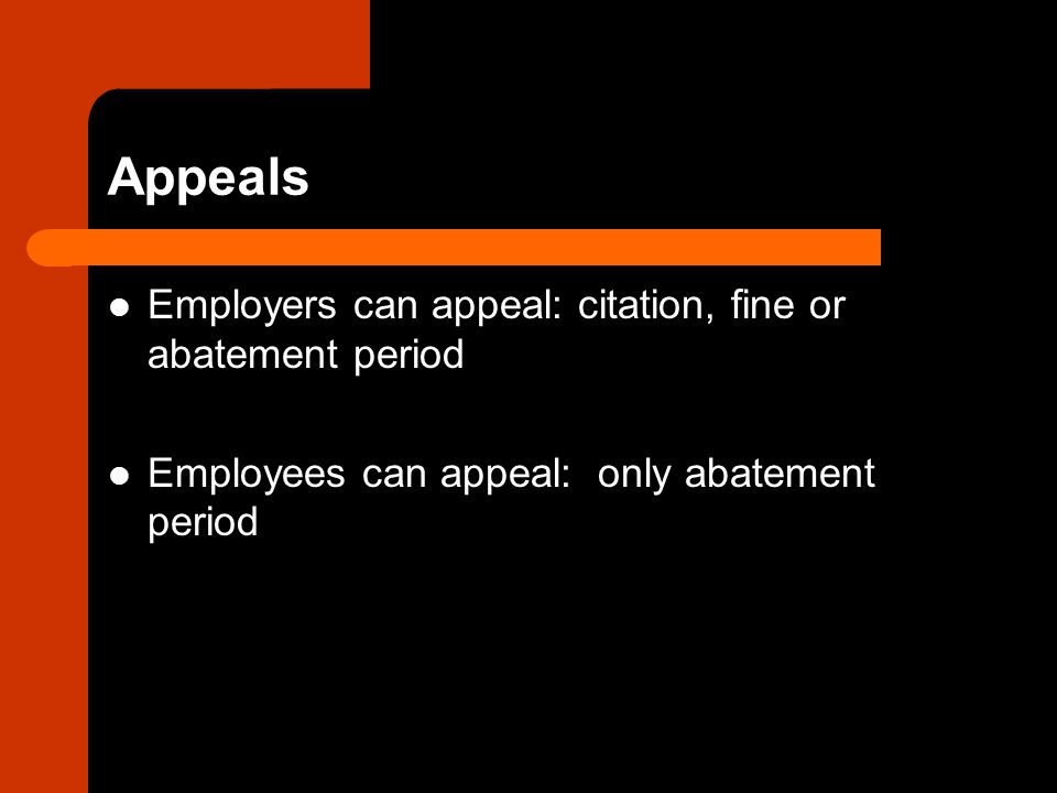 Employer Reporting Responsibilities and Employee Rights OSHA has strict reporting requirements – Work-related incidents must be reported within 6 days – Work-related accidents resulting in hospitalization or death must be reported within 48 hours Employees also have rights which must be posted or communicated to them by their employers