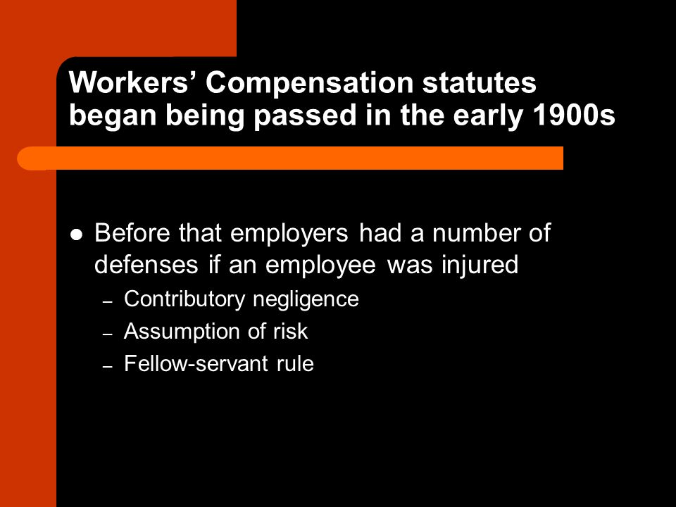 What does Workers' Compensation typically cover.Medical bills Lost income (2/3 of salary.