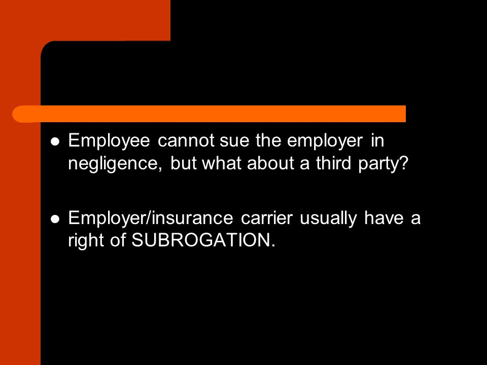 What defenses can an employer raise.Worker is not an employee.