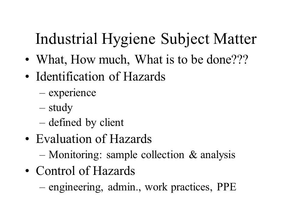 Administrative Controls Employee Rotation Ergonomic Hazards Noise Lead Carcinogen Issue - Prohibition