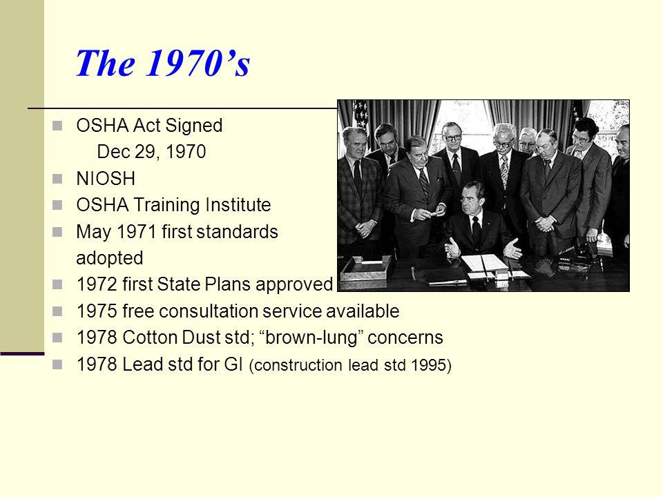 OSHA Citations  List regulations/standards violated  Include proposed penalties  Set deadline for abatement