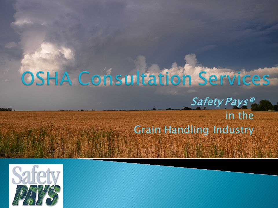 Safety Pays® in the Grain Handling Industry