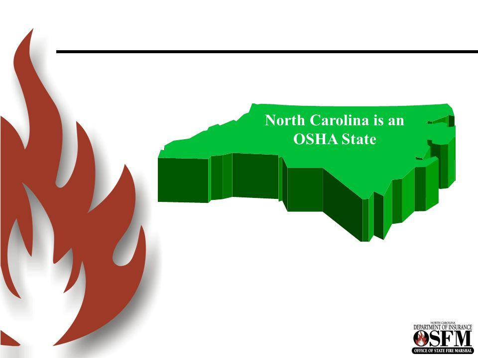 North Carolina is an OSHA State