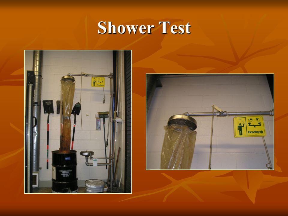 Shower Test