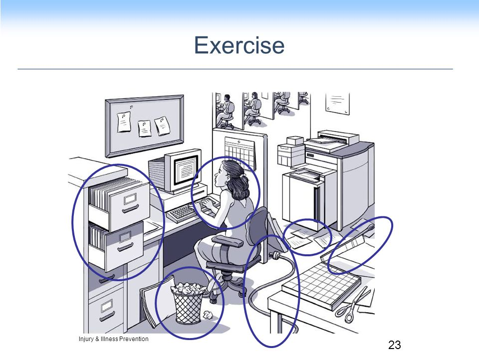 Exercise Injury & Illness Prevention 23
