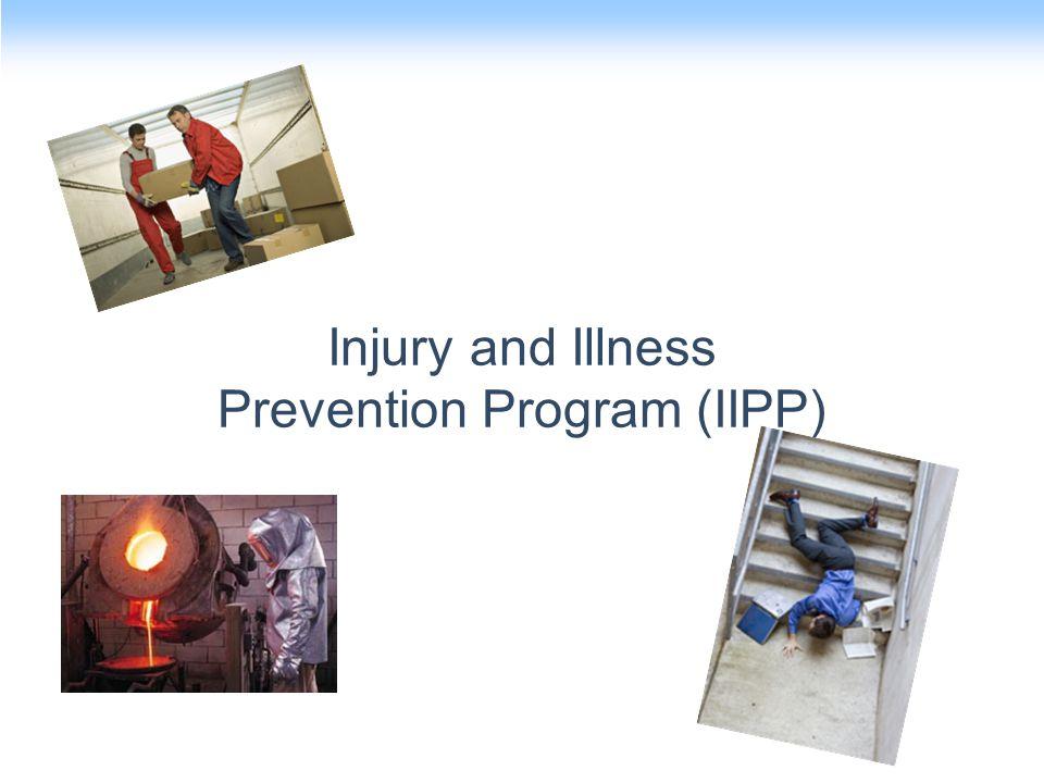 Injury and Illness Prevention Program (IIPP)