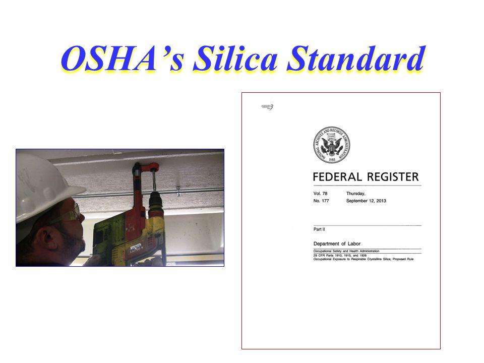 OSHA's Silica Standard