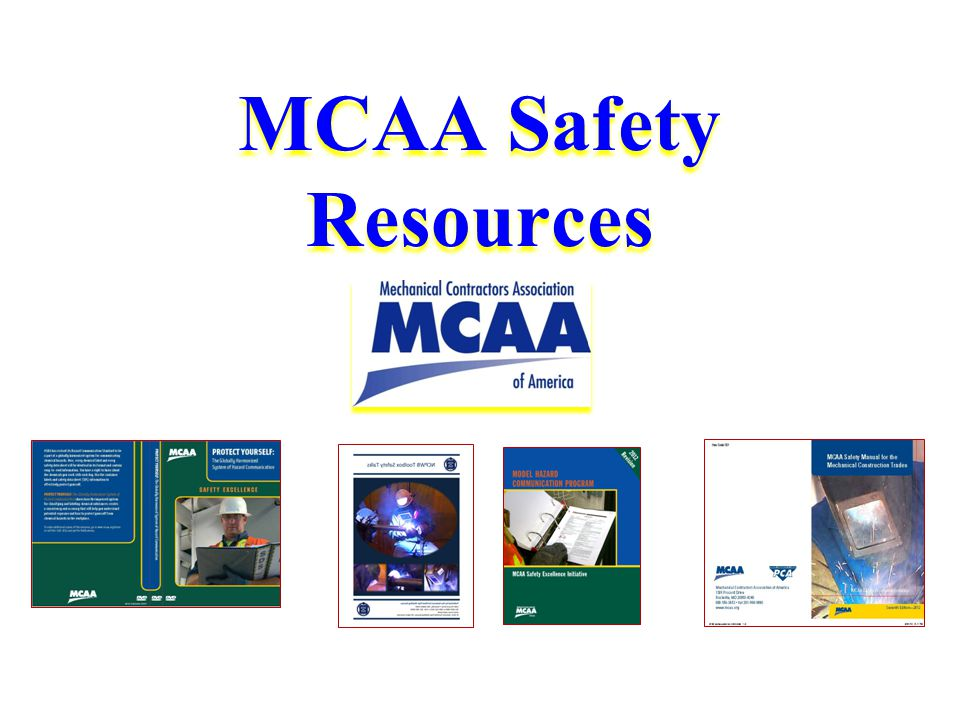 MCAA Safety Resources