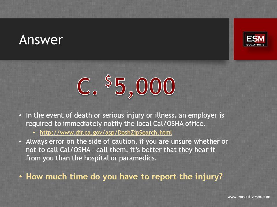 www.executivesm.com Answer