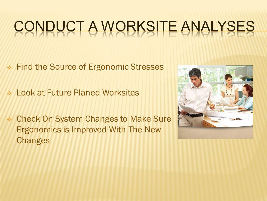  Workstation Design  Work Methods  Planed Tools At The Workstation