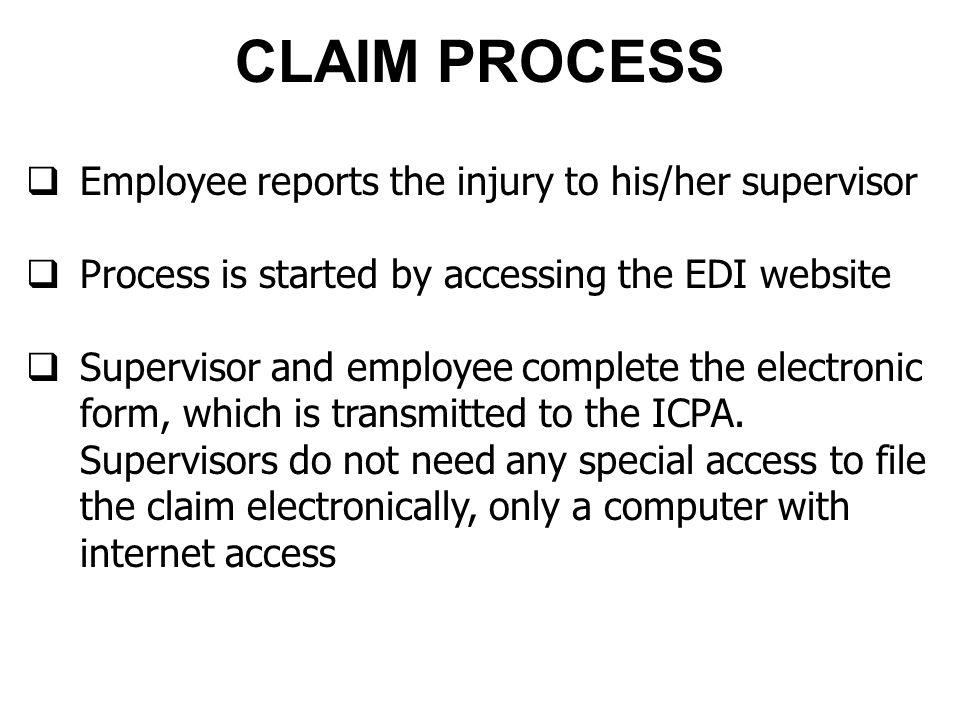 EDI FORM Review the claim.