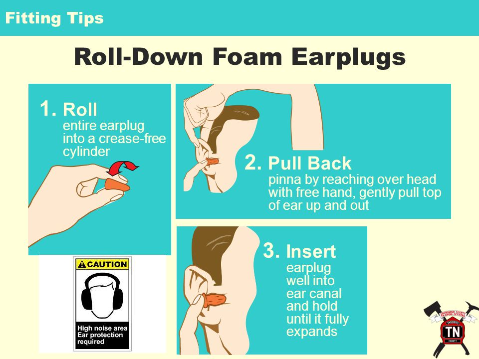 Roll-Down Foam Earplugs 2.