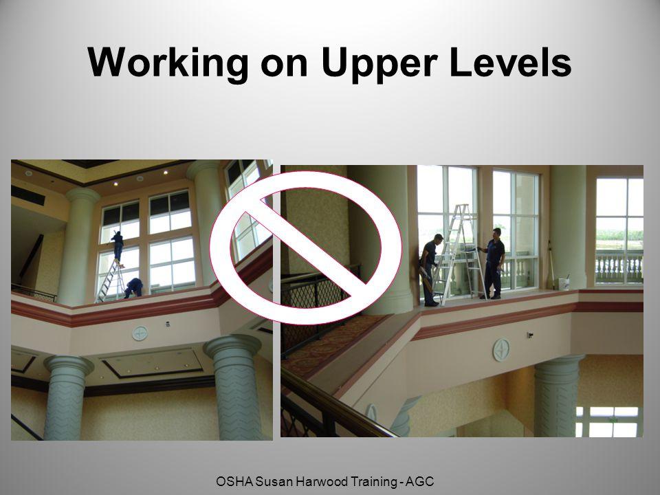 OSHA Susan Harwood Training - AGC Working on Upper Levels