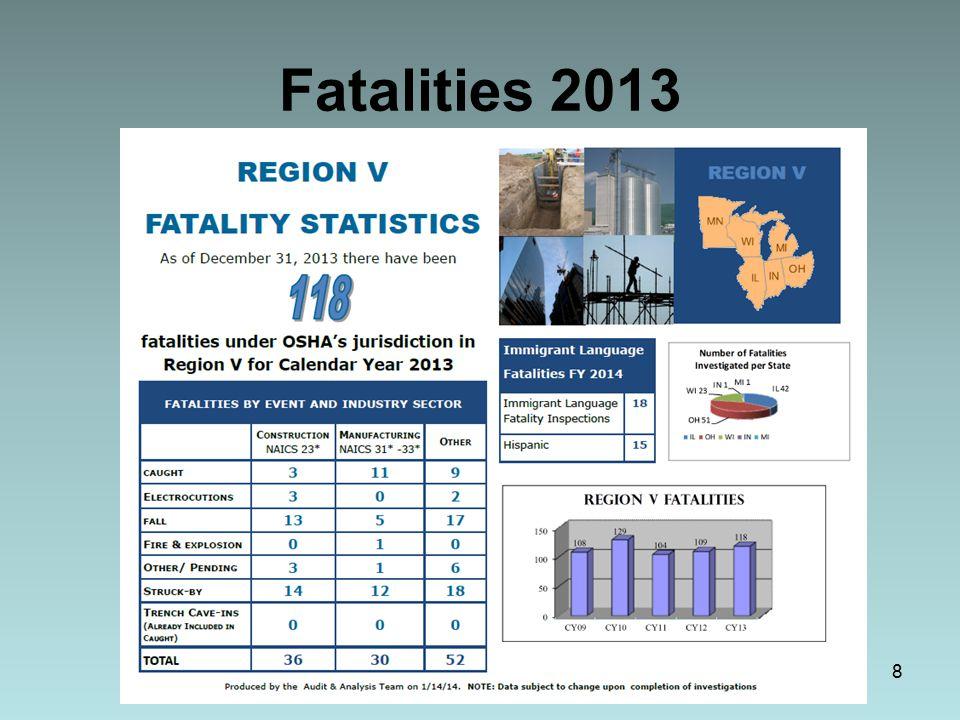 Fatalities 2013 8