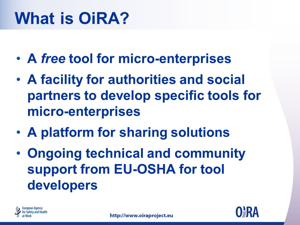 What is OiRA.