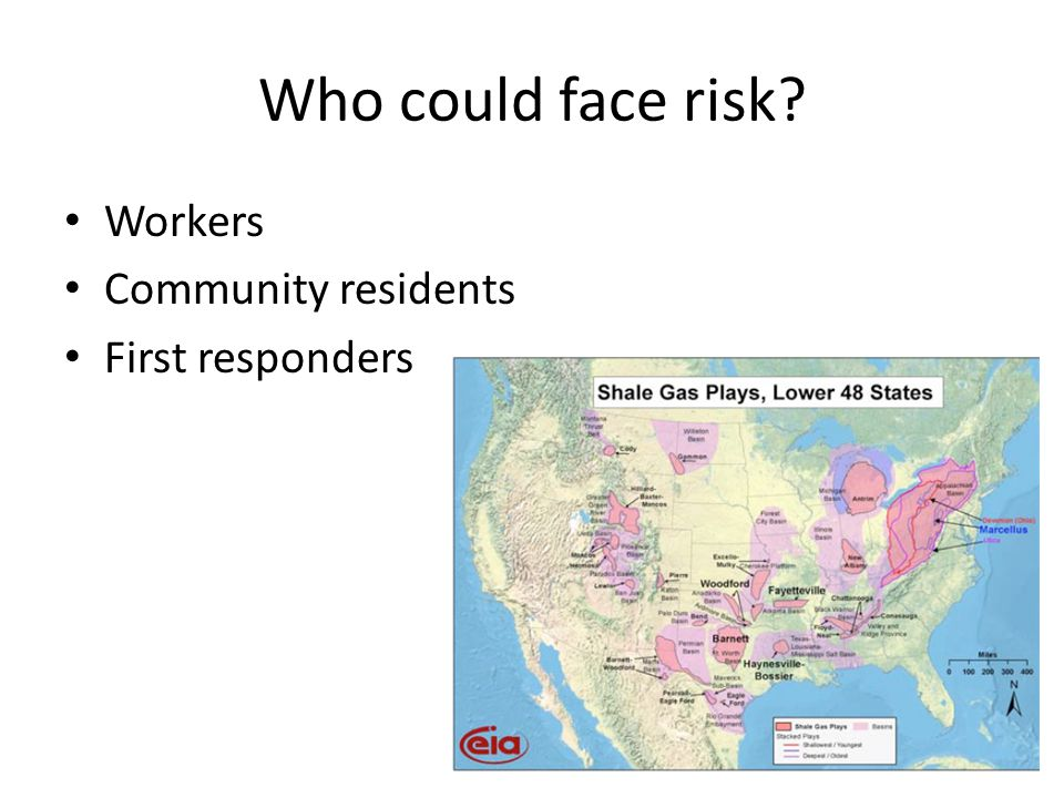 Who could face risk Workers Community residents First responders
