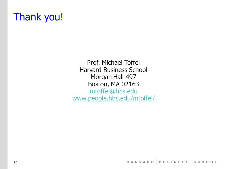 Thank you. Prof.