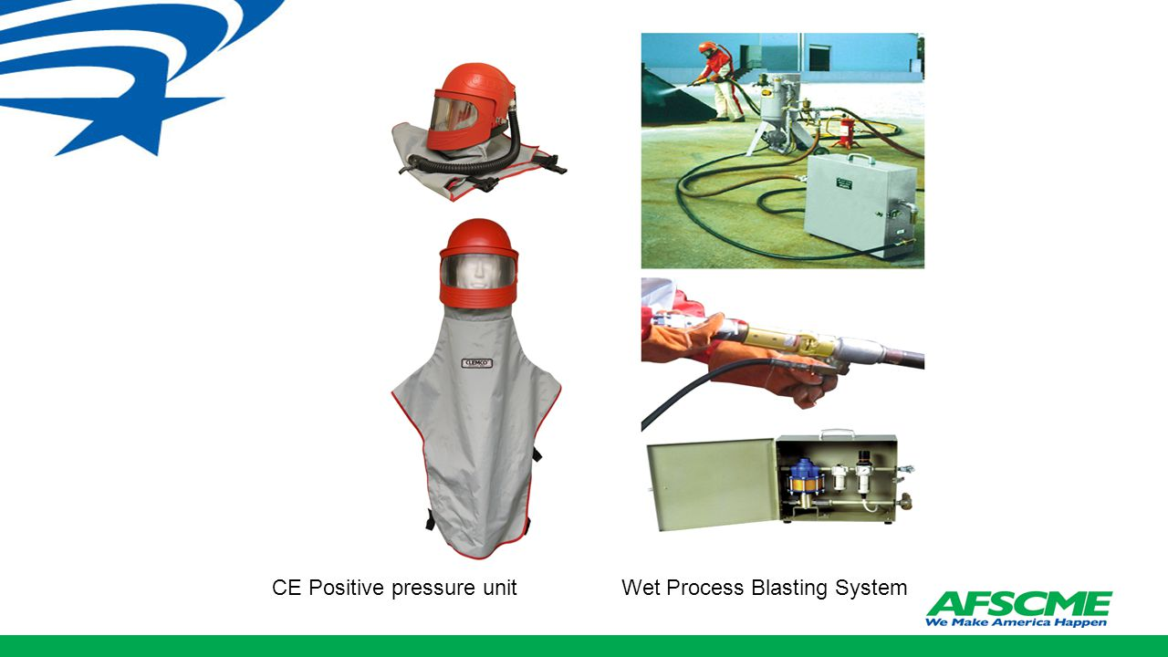 CE Positive pressure unit Wet Process Blasting System