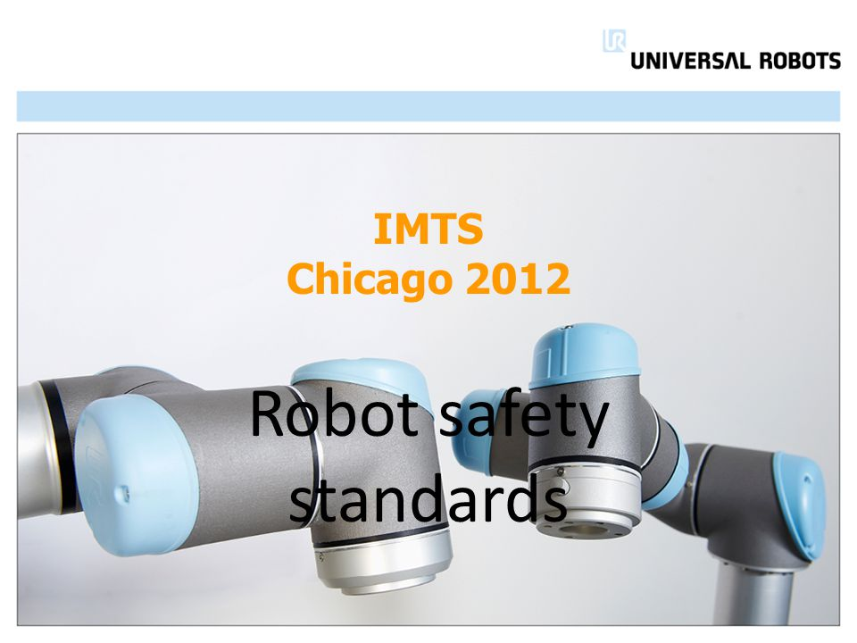 IMTS Chicago 2012 Robot safety standards