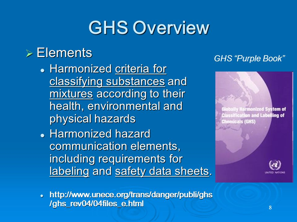Signal Words Signal Words Danger or Warning Danger or Warning Hazard Statements Hazard Statements Example: Toxic if swallowed Example: Toxic if swallowed Other Other Precautions, identification, supplier, supplementalPrecautions, identification, supplier, supplemental 19 GHS - LABELS