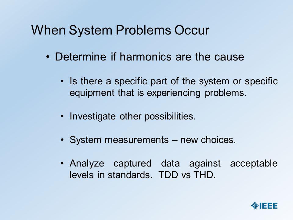 Applicable Standards IEEE Std 519 TM - 2014
