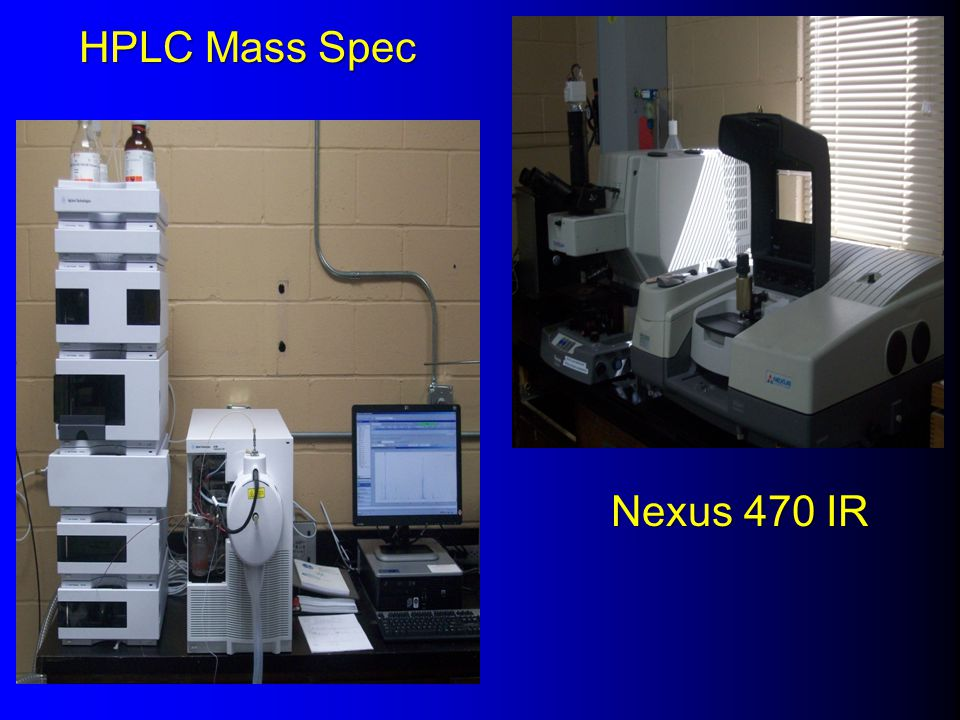 HPLC Mass Spec Nexus 470 IR